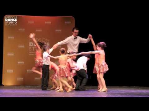 Junior Summer Dance Recital, June 2016 - Latin & Ballroom for 7-10 years