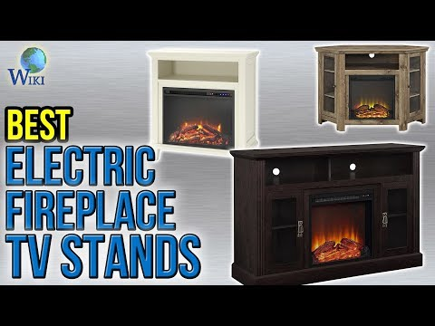 10 Best Electric Fireplace TV Stands 2017