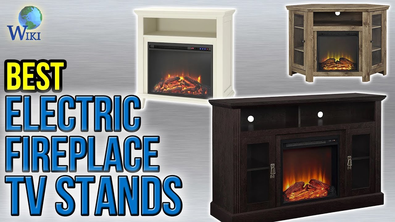 10 best electric fireplace tv stands 2017 youtube