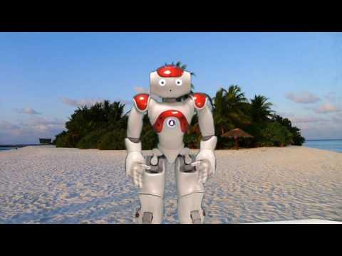NAO Robi the Robot's Desert Island Capers