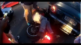 Extremely Close Calls, Road Rage, Crashes, Angry People & Scary Motorcycle Accidents [EP #126]