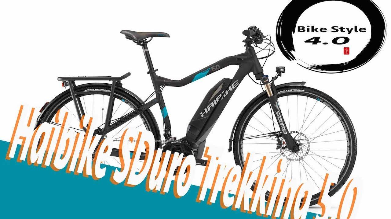 1843c915aa6 Haibike SDuro Trekking 5.0 2017 E-Bike Pedelec Yamaha - YouTube