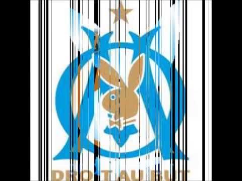 Quelques logo de l'OM + musique de l'OM