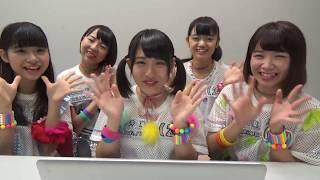 アップアップガールズ(2)初のMUSIC VIDEO完成! Sun!×3(読み:サン...