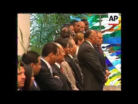 Highlights of Panamanian President Torrijos visit
