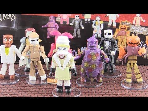 Nightmare Before Christmas Minimates - 18 Packs Opening! - Jack Skellington!