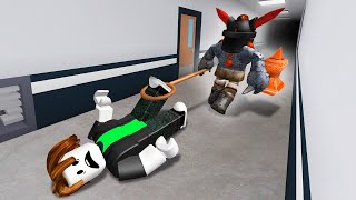 THE BEAST CAUGHT ME HACKING! (Roblox)