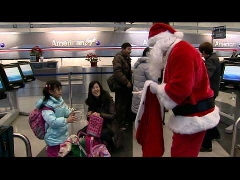 Christmas Storms Halt Holiday Travelers