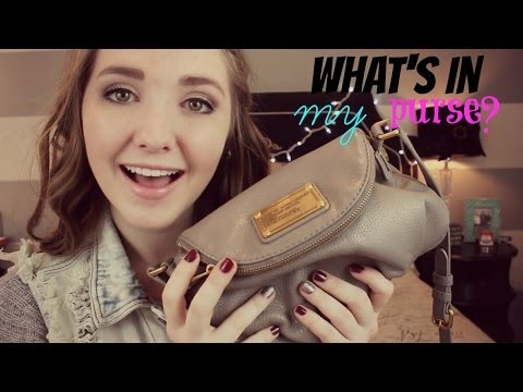 What's In My Purse?  how to win gift cards  Kenzie Elizabeth