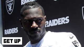 Antonio Brown's Twitter search for a helmet pays off | Get Up
