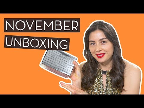 November Unboxing & Wander Beauty + HUM Giveaway…}
