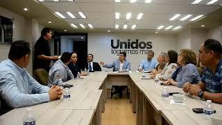 Entregan sindicatos oficio a Gobernadora solicitando el recurso necesario para el ISSSTESON