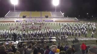 WCU's The Pride of the Mountains Marching Band at TOC 2018