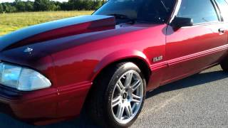 1992 Ford Mustang 410 stroker notchback coupe