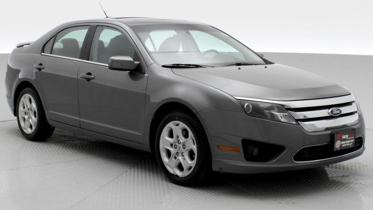 2010 ford fusion se 3 0l v6 sunroof ridetime ca