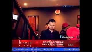 Ditinggal Raffi Ahmad Pergi, Nagita Slavina Nangis, Berita Gosip Artis & Selebritis Terbaru