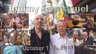 Tommy Emmanuel visits Ishibashi Music Shibuya in Tokyo