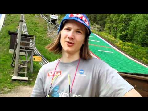 Tom Hilde i Gjerpenkollen Hoppanlegg i Drammen 25.05.11