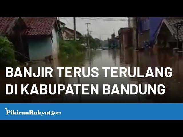 Warga Baleendah Kabupaten Bandung Keluhkan Banjir yang Terus Terulang