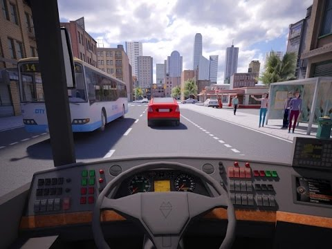 Как играть в bus simulator 2016