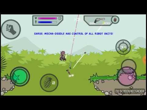 Mini militia inversible avatar only guns and bomb see
