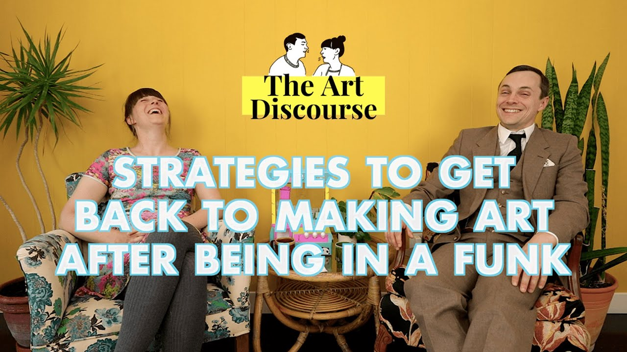 Download LET'S GET MOTIVATED to make art! | Art Discourse Ep 12