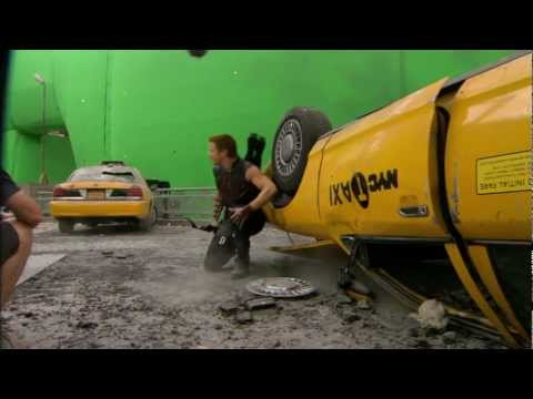 The Avengers - behind the scenes