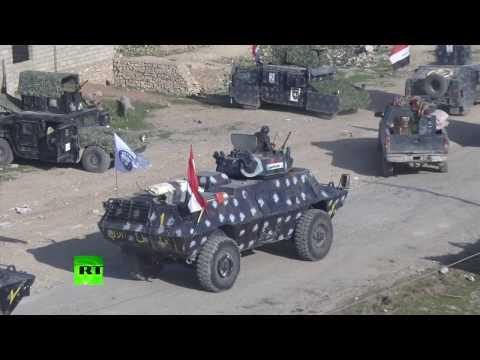 RAW: Iraqi army approaching Mosul airport