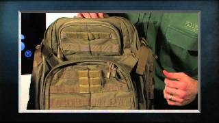 5.11 Tactical RUSH Backpacks and TIER system