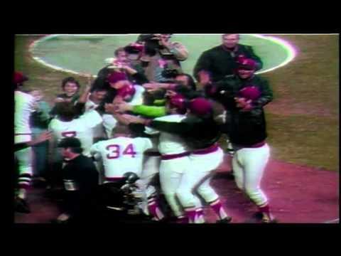 DICK STOCKTON 1975 World Series Carlton Fisk Homerun Call