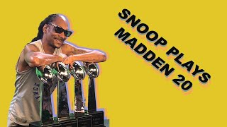 SNOOP DOGG PLAYS MADDEN 20 | GGL VII