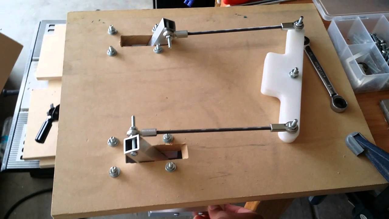 Diy Cessna Style Rudder Pedals Youtube