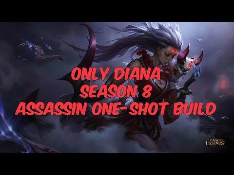 Only Diana Assassin Diamond Gameplay Permabanning Irelia