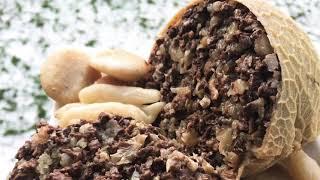 Чеченская кухня Начинённая требуха / очень вкусный рецепт / баранина /желудок сердце легкие жир