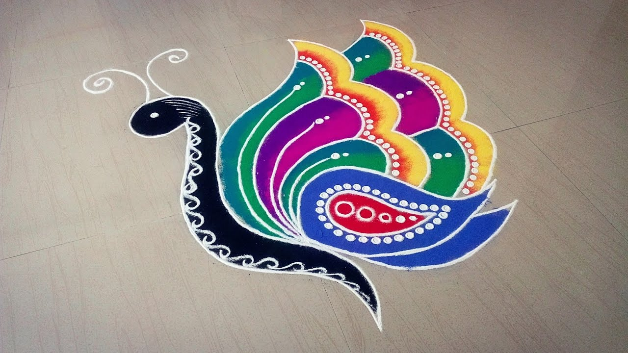 rangoli designs 2018