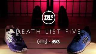 """Extra Butter x Asics """"Death List Five"""" Volume 1"""