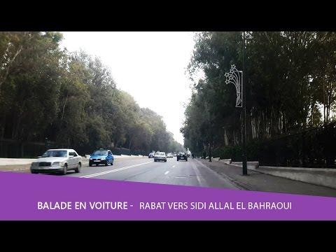 Balade voiture 🚘 Rabat vers Sidi Allal El Bahraoui Maroc