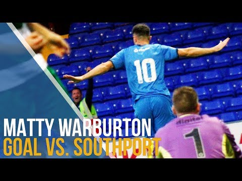 Warburton Finishes Off A Flowing Move As County Hit Southport For Six!