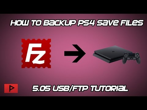 [How To] Backup and Restore PS4 Save Game Files On 5.05 Firmware