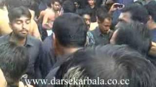 Noha:Akbar Bachra wal aa By Allah dino at Moro Sindh 08 Mohram 2012