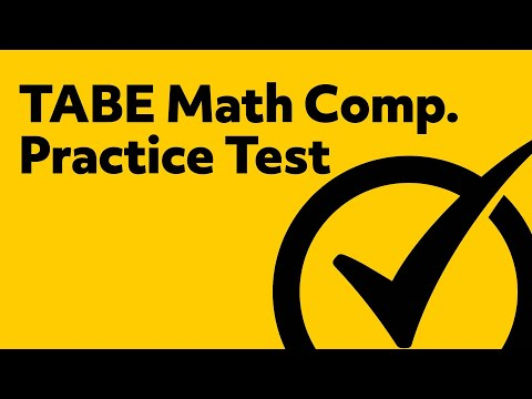 Amazing TABE Math Practice Test