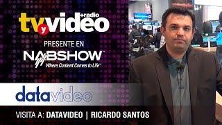 Visita a DataVideo durante NabShow 2019