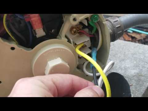 electrical hookup for pool pump