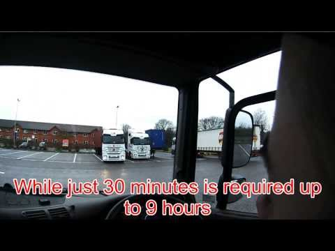 How tachos work, driver regs and the working time directive part 3 of 3 (Old #57)