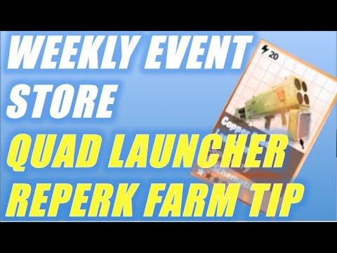Weekly Store Update - Quad Launcher