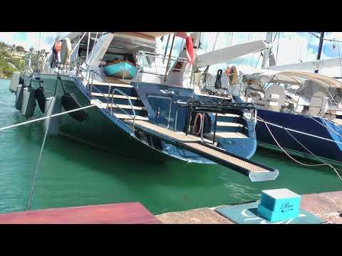 scenes from Nelson's Dockyard on Antigua