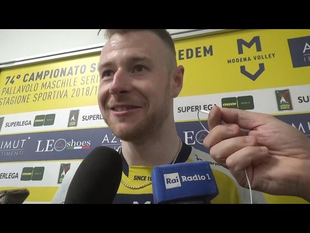Zaytsev dopo la vittoria con Perugia