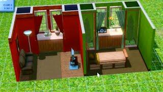 как сделать в симс 3 маленький и удобный дом