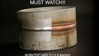 NEW: Robotic Weld Cleaning with LASER