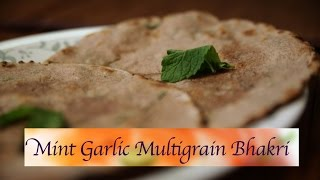 How To Make Mint Garlic Multigrain Bhakri Flat Bread By Smita